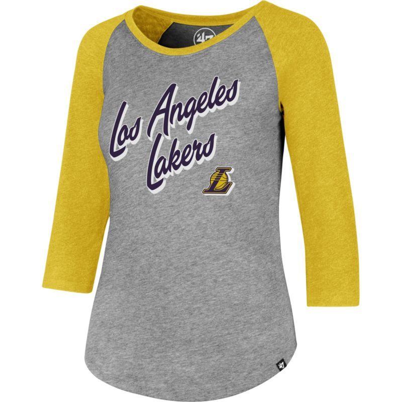 '47 Women's Los Angeles Lakers Club Grey/Gold Three