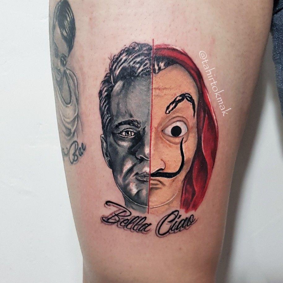 Casa Tatouage la casa de papel | berlin #tattoo #art #lacasadepapel | tattoo in