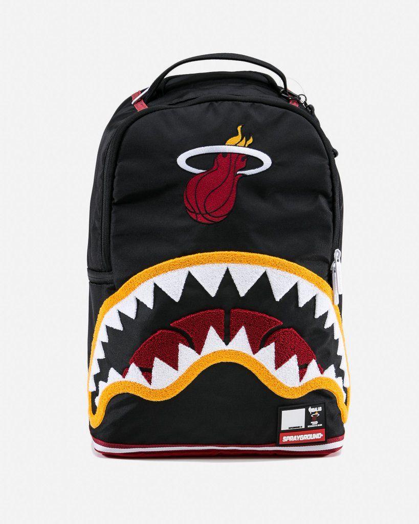 0e7118a4b895 NBA LAB HEAT SHARK Spray Ground Backpack www.gravityocean.com 20%off CODE