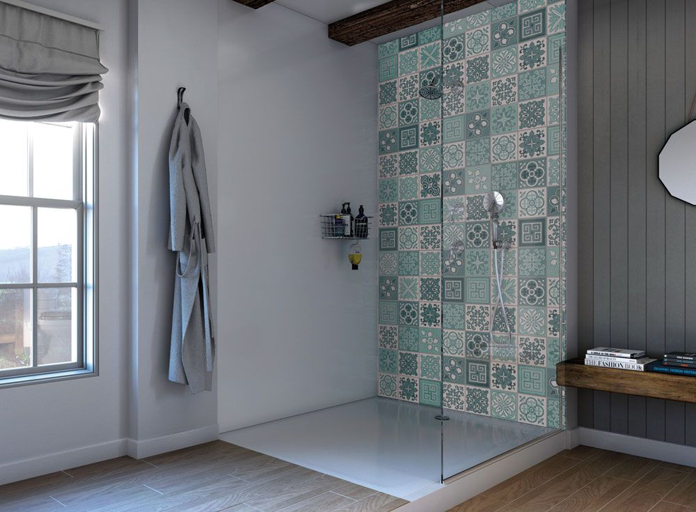 Quick Easy Alternative To Tiling Your Bathroom Apartment Number 4 Acrylic Shower Walls