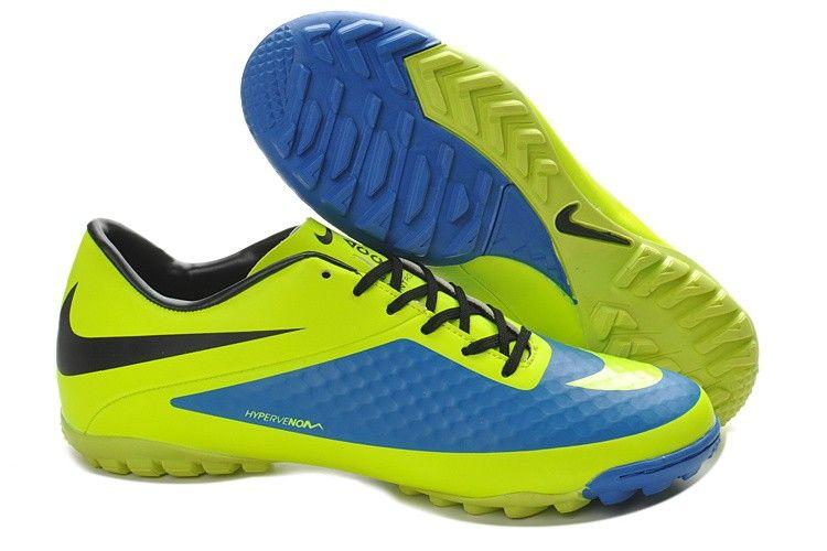Soccer shoes � Nike Hypervenom Phelon TF Boots - Yellow blue black
