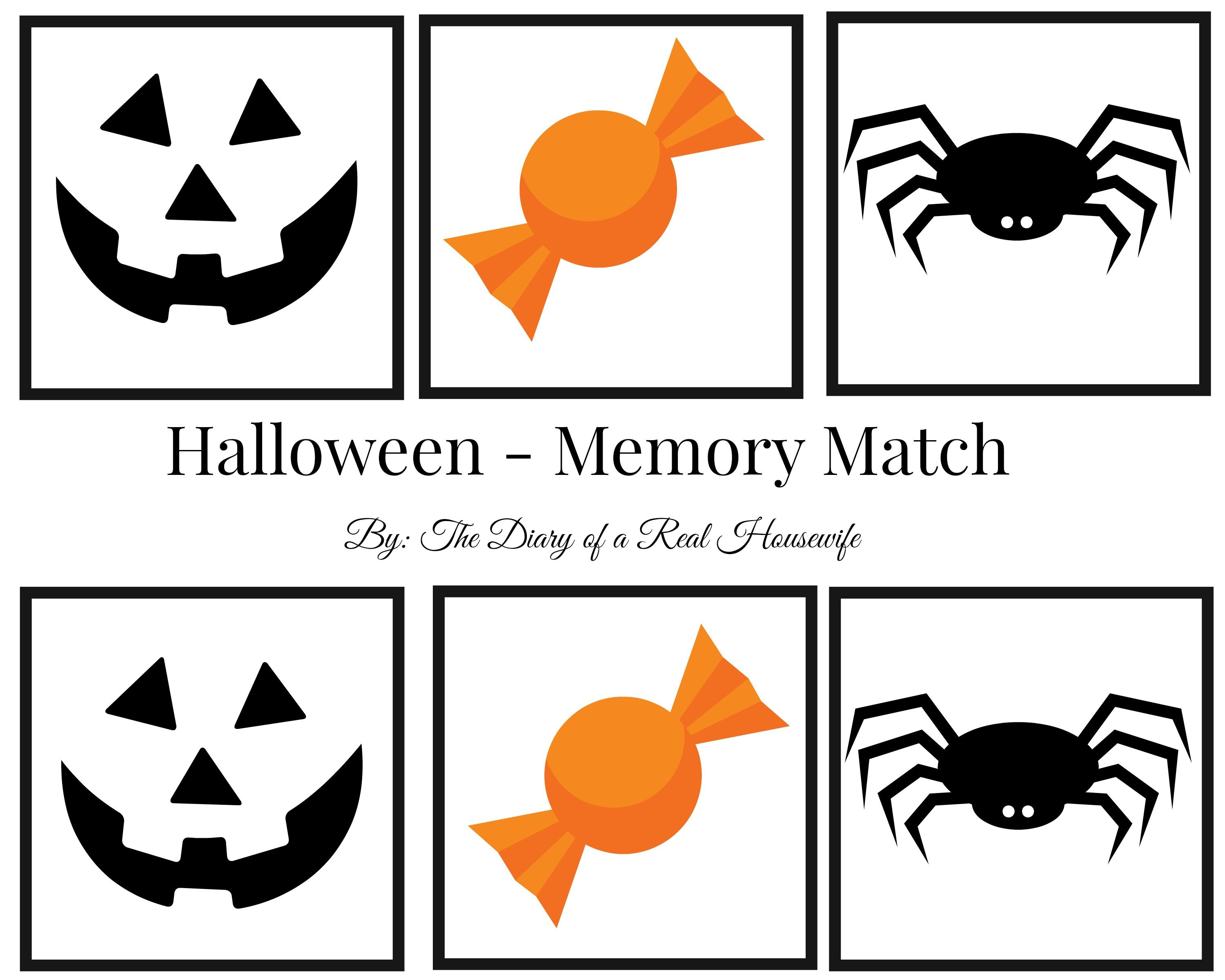 Halloween Printable A Fun Halloween Game For The Kids