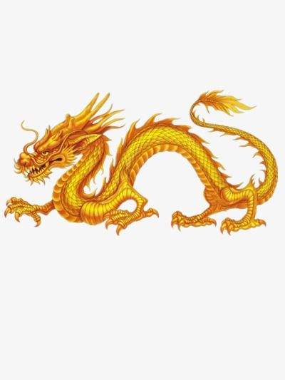 Golden Chinese Dragon Chinese Style Dragon Golden Png Transparent Clipart Image And Psd File For Free Download Chinese Dragon Dragon Chinese Style