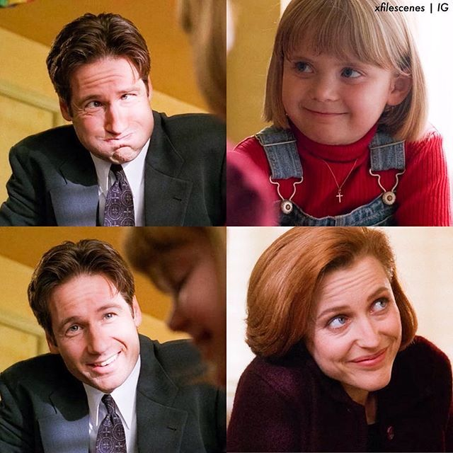 X Files Christmas Carol.Mulder Emily And Scully Season 5 The X Files