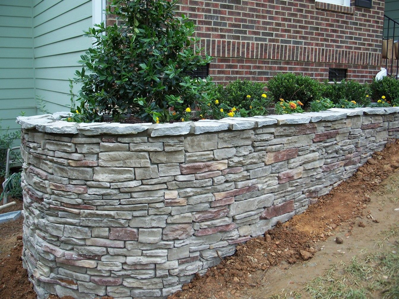 Charming Stone Wall Masonry Is One Of Many Masonry Services Offered By All Suffolk  Paving U0026 Masonry. Stone Walls Can Be Used As Fencing Or Retaining Walls. Awesome Ideas