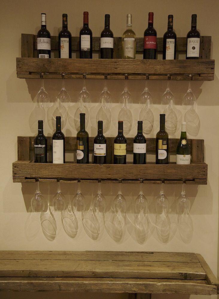 Image of botellero de palets walter cosas para comprar for Confeccionamos muebles de bano en palet