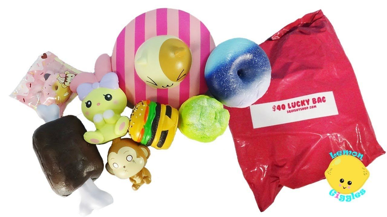 e0e2555002  40 Lucky Bag Squishy Grab Bag  2 squishyshop.com- Is it worth it - Cutie  Creative Squishies