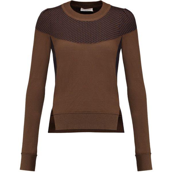 Sonia Rykiel Intarsia cashmere sweater (3.881.905 IDR) ❤ liked on ...