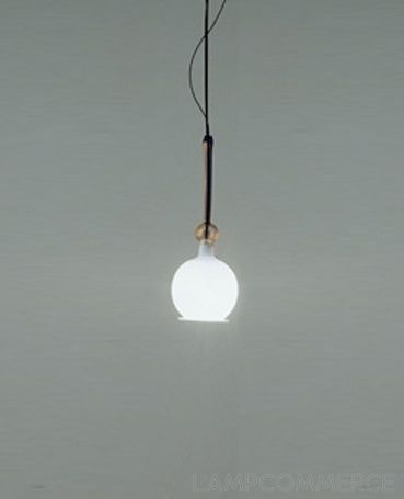 Artemide Fenice hanging lamp Design Renato Toso Noti Massari e