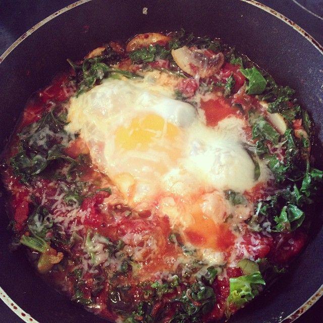 @ellypear - Inspired by Nigella's Eggs In Purgatory - This... - Enjoygram