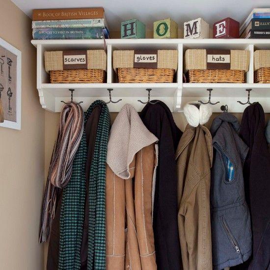 Storage Decorating Ideas Cloakroom Storage Porch