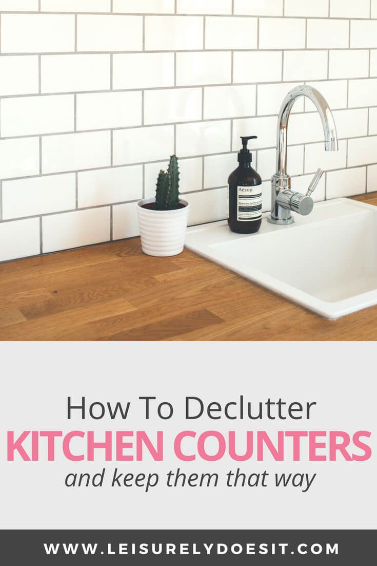 The Helpful Guide To Declutter Kitchen Countertops | Home ...