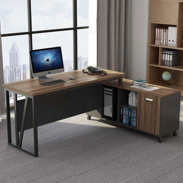 nemeth reversible l shaped computer desk in 2019 home office ideas rh pinterest com