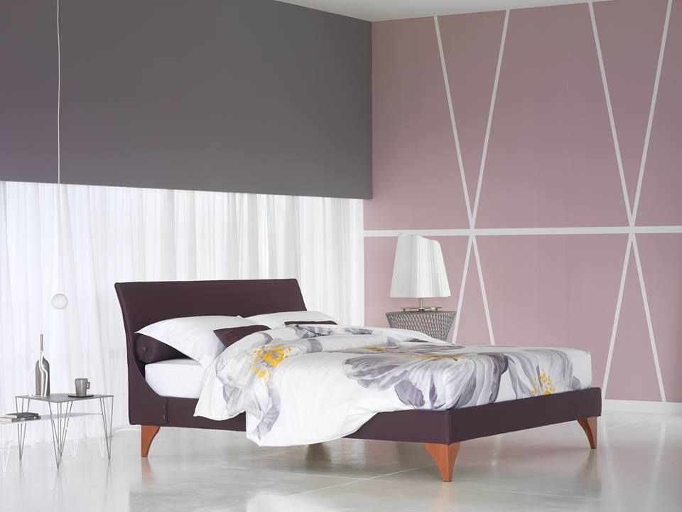 """Flou """"Tahiti"""" Linen Set. Available in a variety of colors and sizes. #Covers #Fabrics #Leather #Hide #Beds #Lenzuola #InteriorDesign #HomeDecor #TotalWhite #Bedroom"""