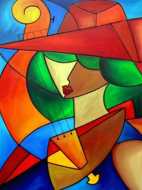 40 excellent examples of cubism art works art ref pinterest