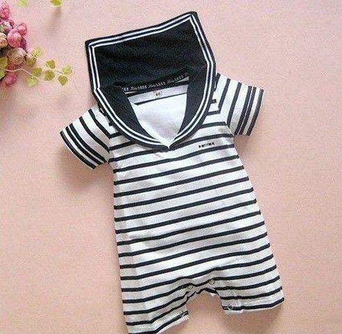 f1dc4d02b8378 Baby boy sailor suit romper aliexpress.com   bébé enfant ...