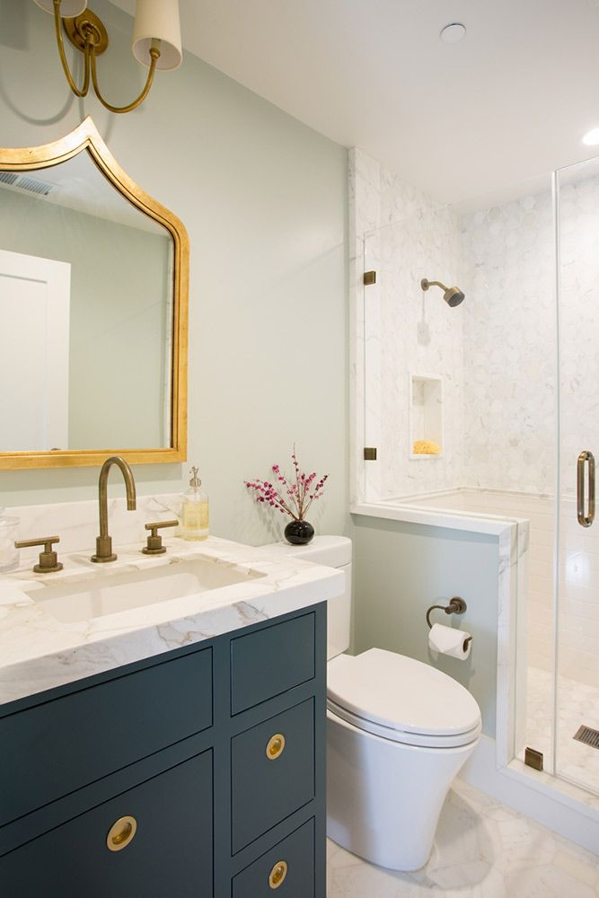 cabinet trends in the navy bathrooms bathroom transitional rh pinterest com