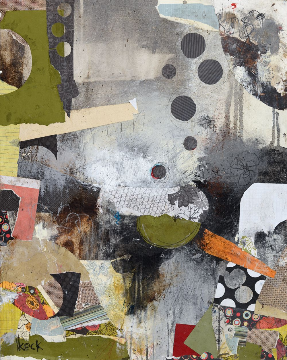 Original Collage Art Abstract Collage Art Paintings Assemblages