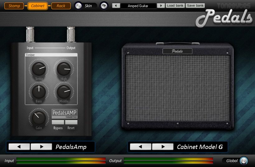 Tonebytes Pedals Free Guitar Amp Vst Plugin Guitar Amp Plugins Guitar Rack