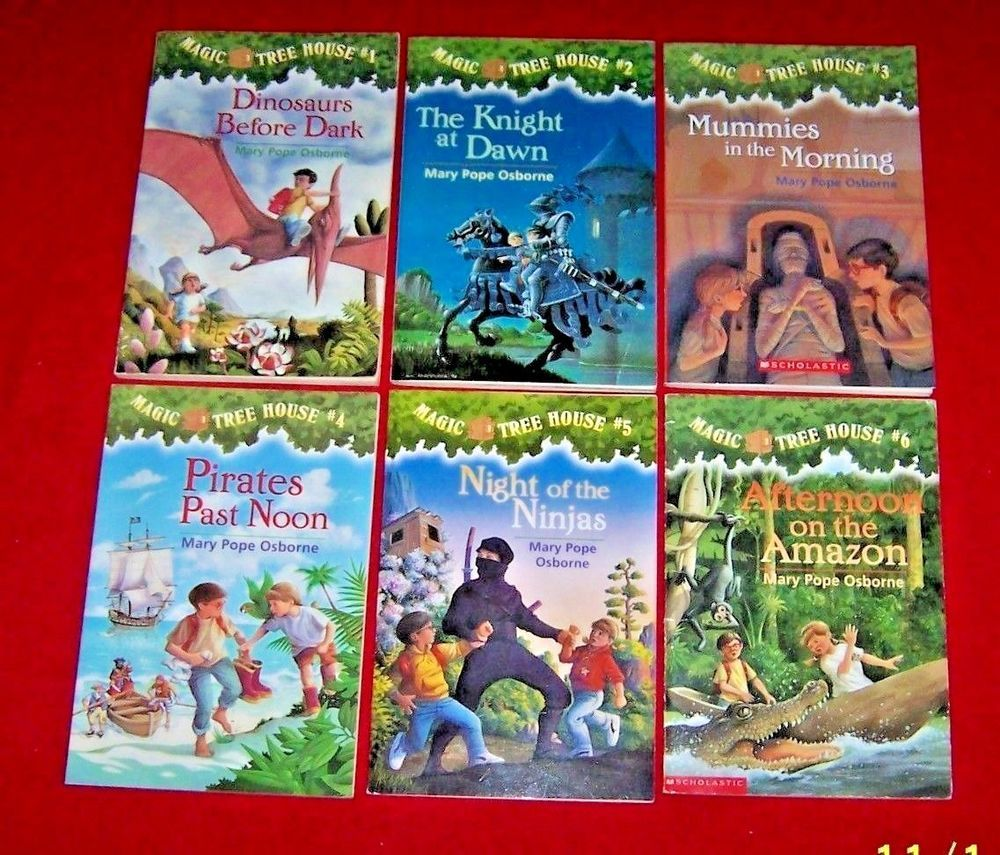The Magic Tree House Books 1 6 Mary Pope Osborne Text Level M