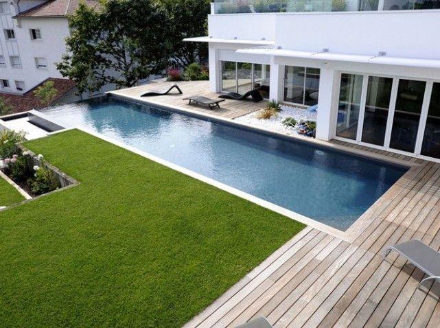 Une piscine pour tous les styles Swimming pools, Architecture - amenagement jardin avec spa