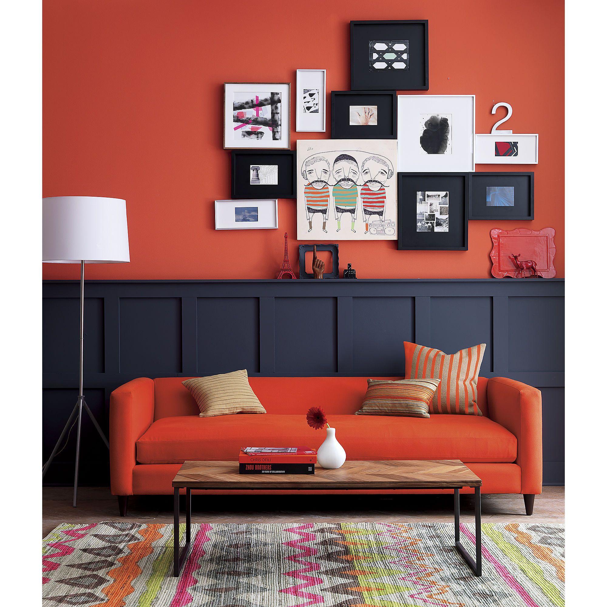 Room division red orange 20