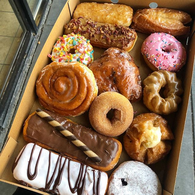 Donut Factory (@donutfactoryinc) • Instagram photos and videos #donuts #box  #variety #delicious #yummy