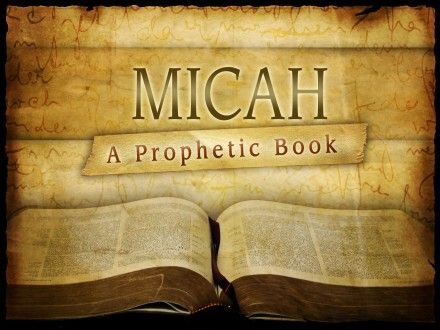 Image result for book of micah