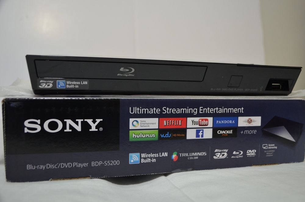 Sony BDP-S5200 3D Blu-ray Disc Player with Wi-Fi #Sony