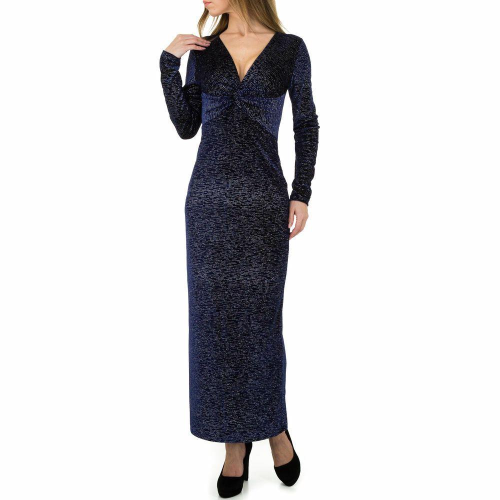 abend maxi damen kleid m violett 3510 | ebay in 2020
