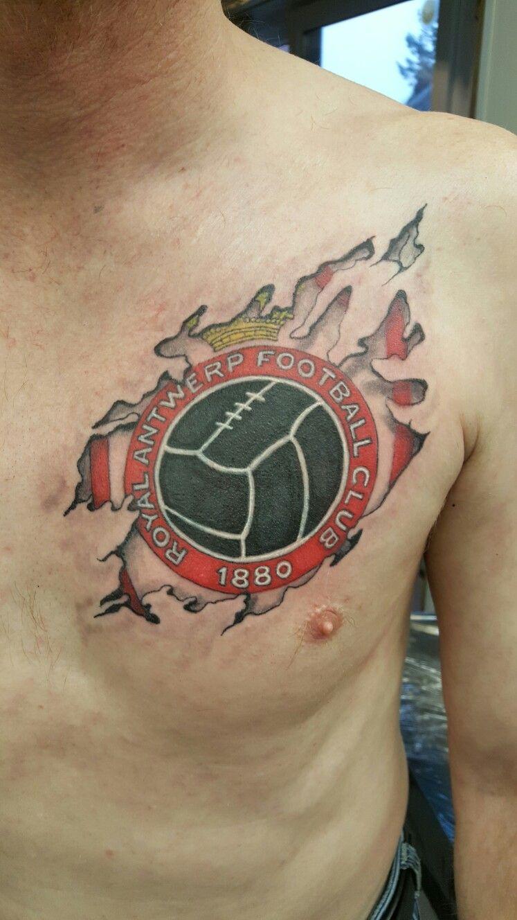 Royal Antwerp Football Club Tattoo 2 Cover Up Foto Voor Vergeten Not Healed Tattoo Antwerptattoo Antwerpfootballclubtattoo Voetbal Tatoo Tatoeage Tatoeages