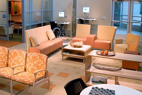 orange office furniture. orange color chair in warm atmosphere medicalofficefurniture lobby furnitureoffice office furniture