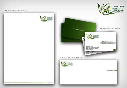 Contoh Desain Kop Surat Dan Corporate Identity Inspiratif 05 Kop Surat Identitas Perusahaan Desain Alat Tulis