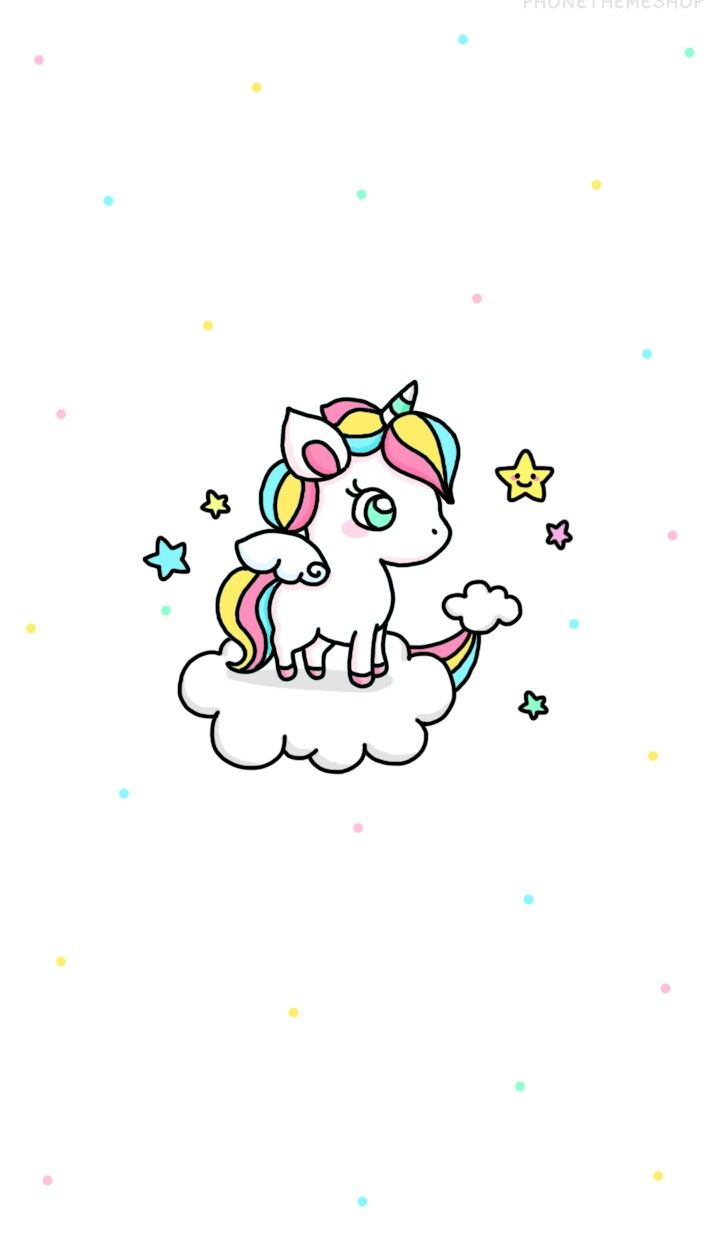 Cute unicorn wallpaper u pinteresu