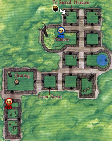 Lost Woods Map lost woods map citylondonhotel | XB2001: Game Development | Map