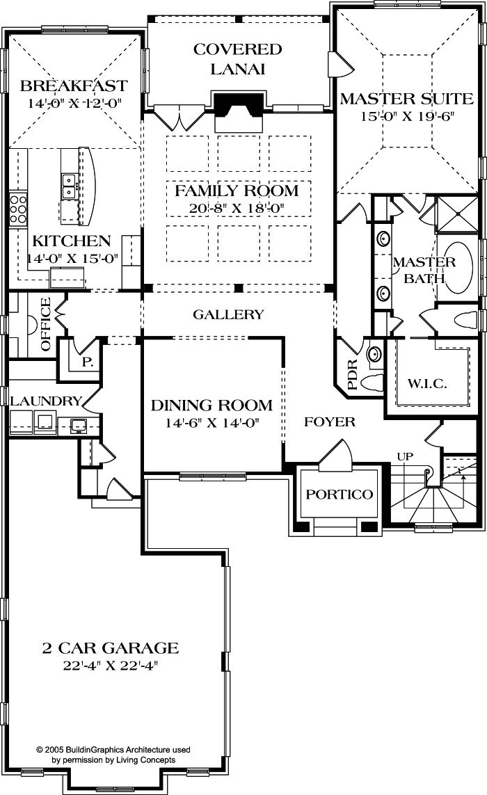 first floor plan love this one 3 bedrooms all with baths a - 3 Bedroom House Plans With Rec Room