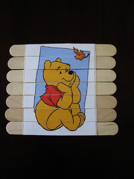 Tosiowe igraszki: DIY proste puzzle