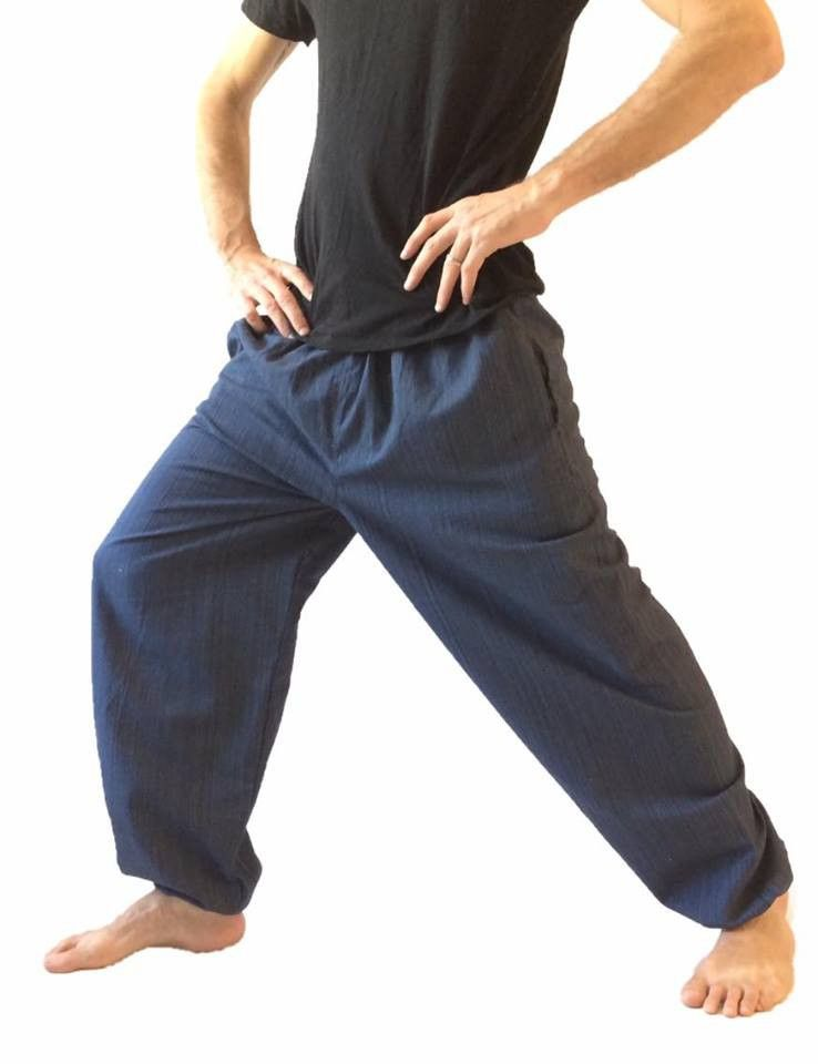 INCERUN Men 100/% Cotton Baggy Pant Harem Hippie Harem Casual Loose Yoga Trousers