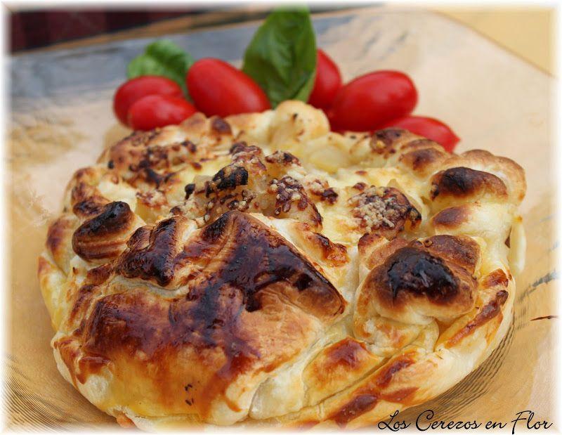 Crunchy Brie with Apple Compote | Crujiente de Brie con Compota de Manzana | Los cerezos en flor