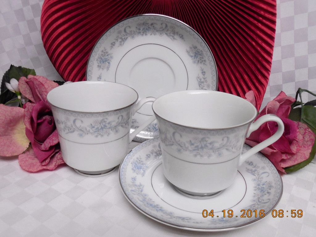 Mikasa, China Dinnerware Dresden Rose, Pattern #L9009 Set 2 cup and ...