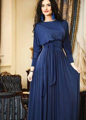 1a2466940c52 Мусульманские платья (87 фото): фасоны, красивые, длинные, для ...