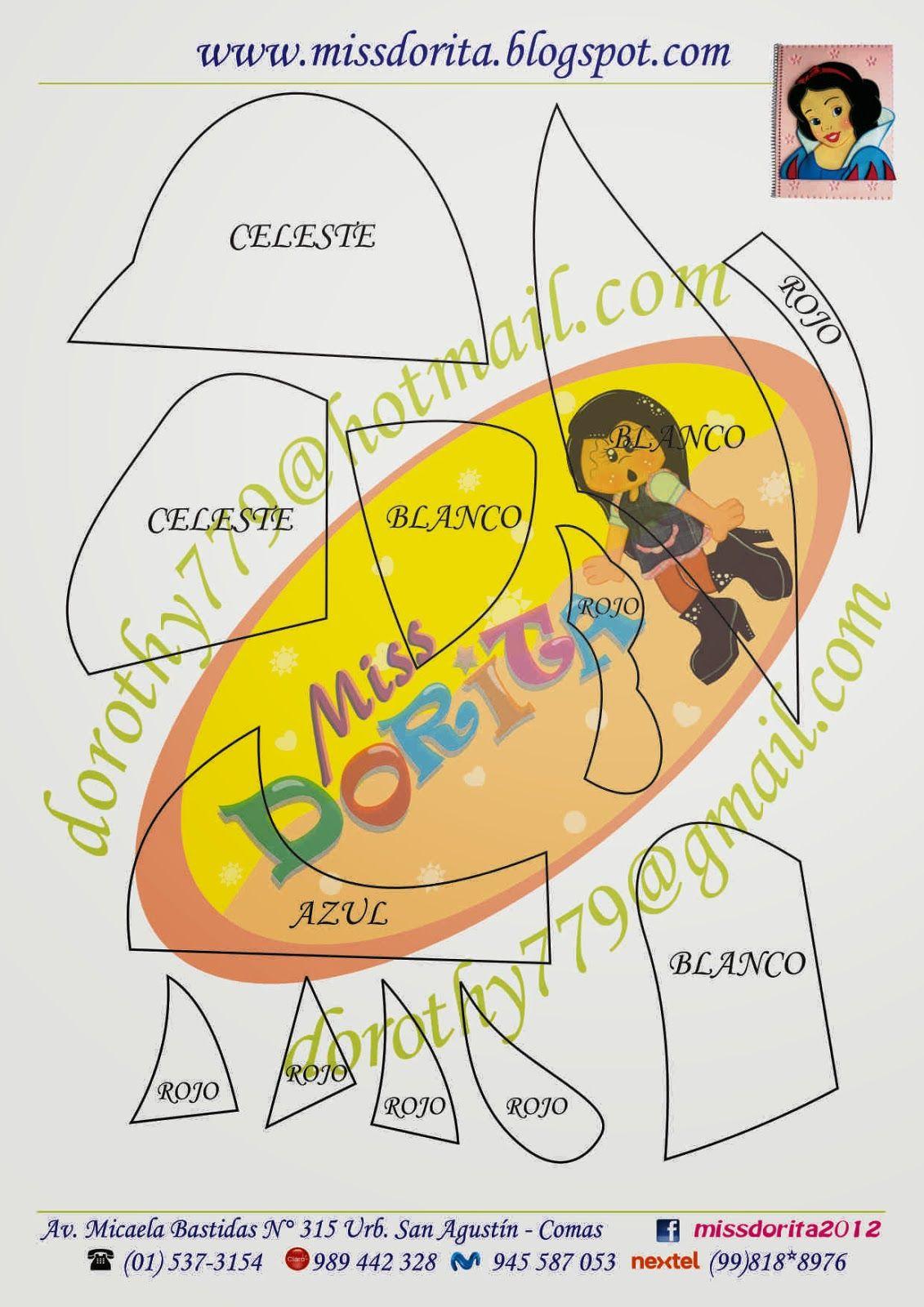 Miss Dorita: CD Moldes 2