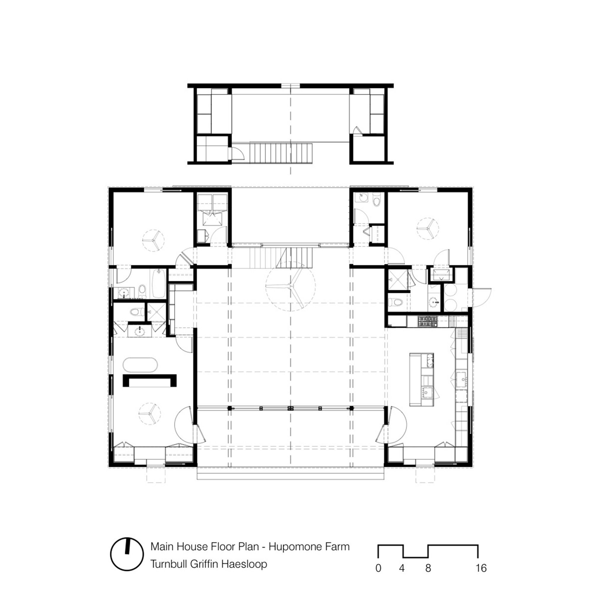 Gallery Of Hupomone Ranch Turnbull Griffin Haesloop 16 Floor Plans House Design How To Plan