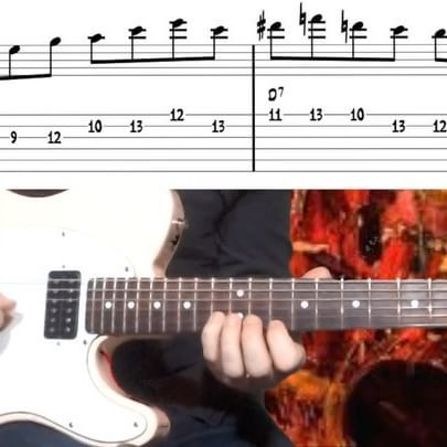 In This 2 5 1 Lick In G Major I Use Altered Tones To The D7 Dominant Chord Which Is Very Nice If You Want This Jazzy Sound To Guitar Music Chords Telecaster