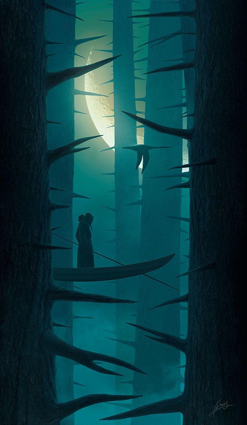 Floating in a dream, Alexey Egorov