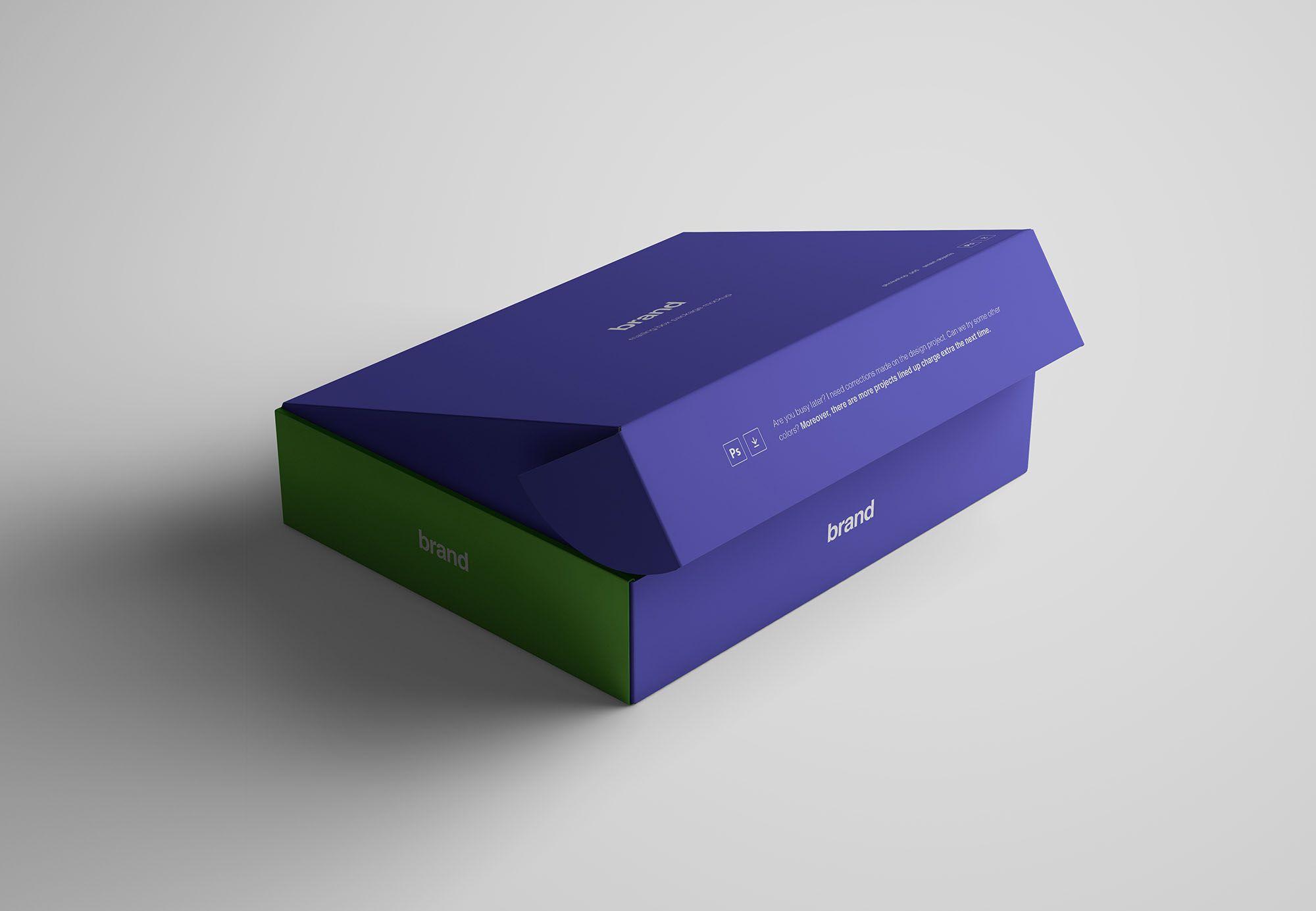 Graphic Pear Advanced Package Box Moxkup Box Mockup Box Design Box Packaging