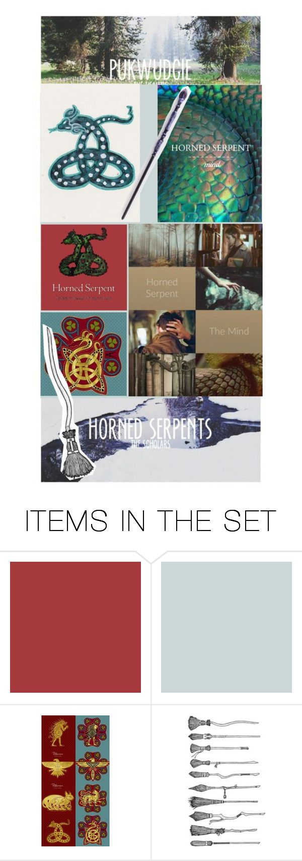 """""""Ilvermorny"""" by krgood7 ❤ liked on Polyvore featuring art"""