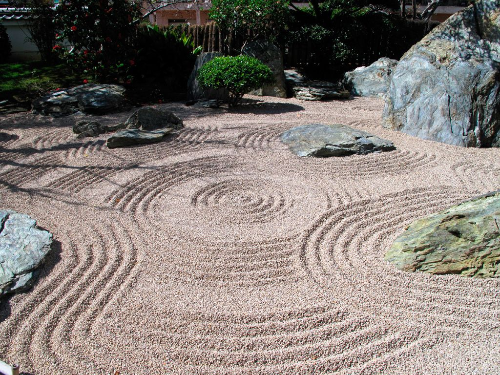 Ancient japanese zen gardens - Japanese Wabi Sabi Japanese Gardens Karesansui Meaning Dry Garden In Japanese Is Better