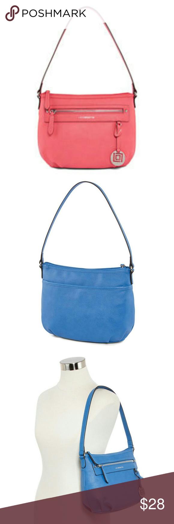0ef284adb36 Liz Claiborne Jess Top Zip Shoulder Bag Our Jess bag by Liz Claiborne  features multiple pockets