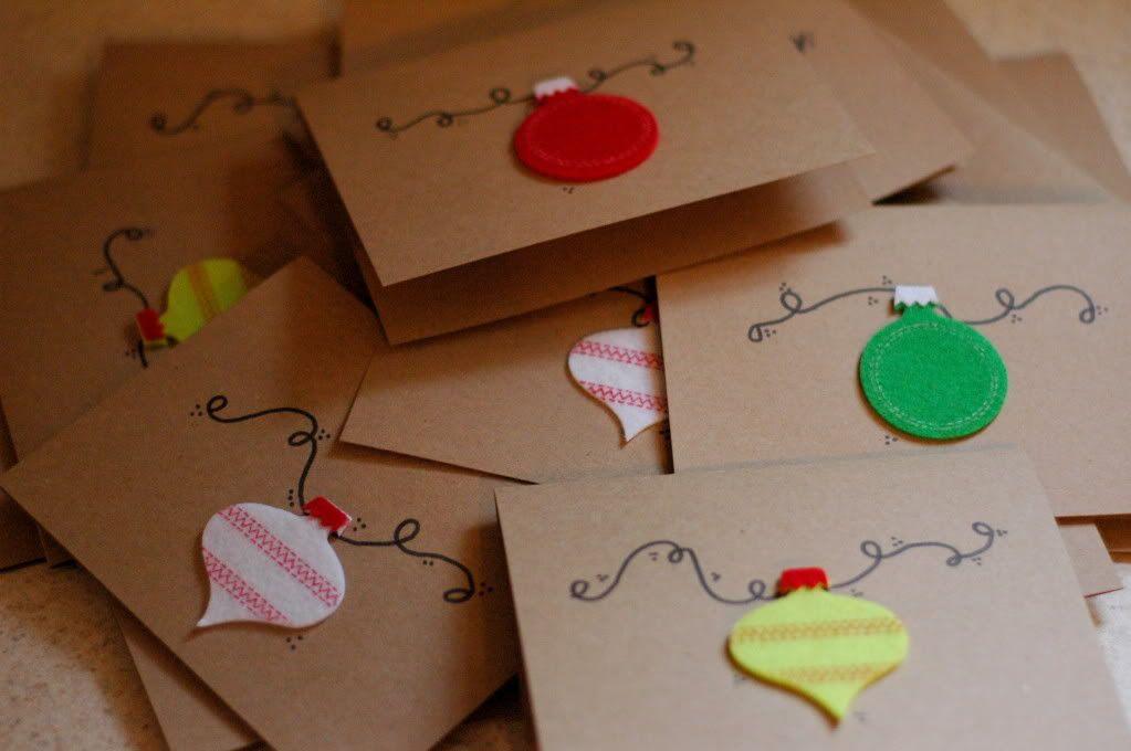homemade christmas cards or not homemade christmas cards